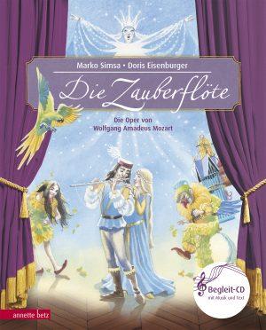 Produktcover: Die Zauberflöte - Die Oper von Wolfgang Amadeus Mozart