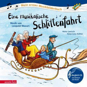 Produktcover: Eine musikalische Schlittenfahrt - Musik von Leopold Mozart