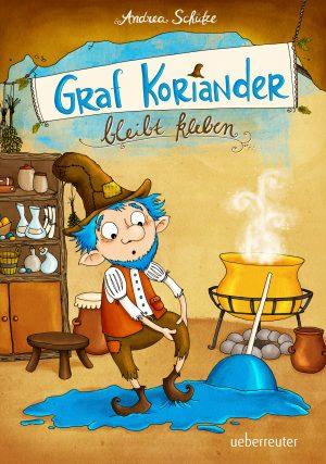 Produktcover: Graf Koriander bleibt kleben - (E-Book)