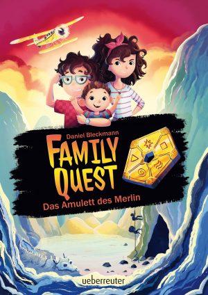 Produktcover: Family Quest - Das Amulett des Merlin - (E-Book)