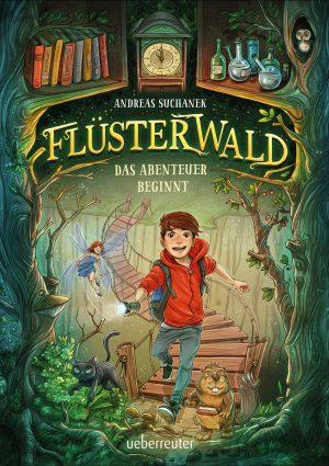 Produktcover: Flüsterwald - Das Abenteuer beginnt - (E-Book)