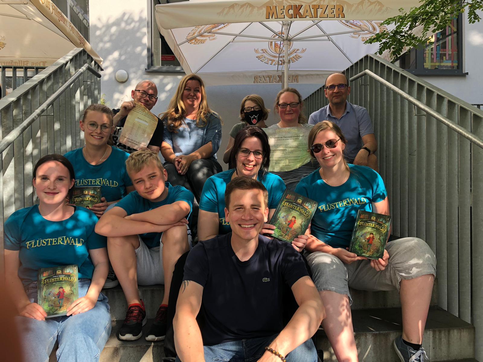 Unsere Schnitzeljagd zur neuen Kinderbuchreihe »Flüsterwald«