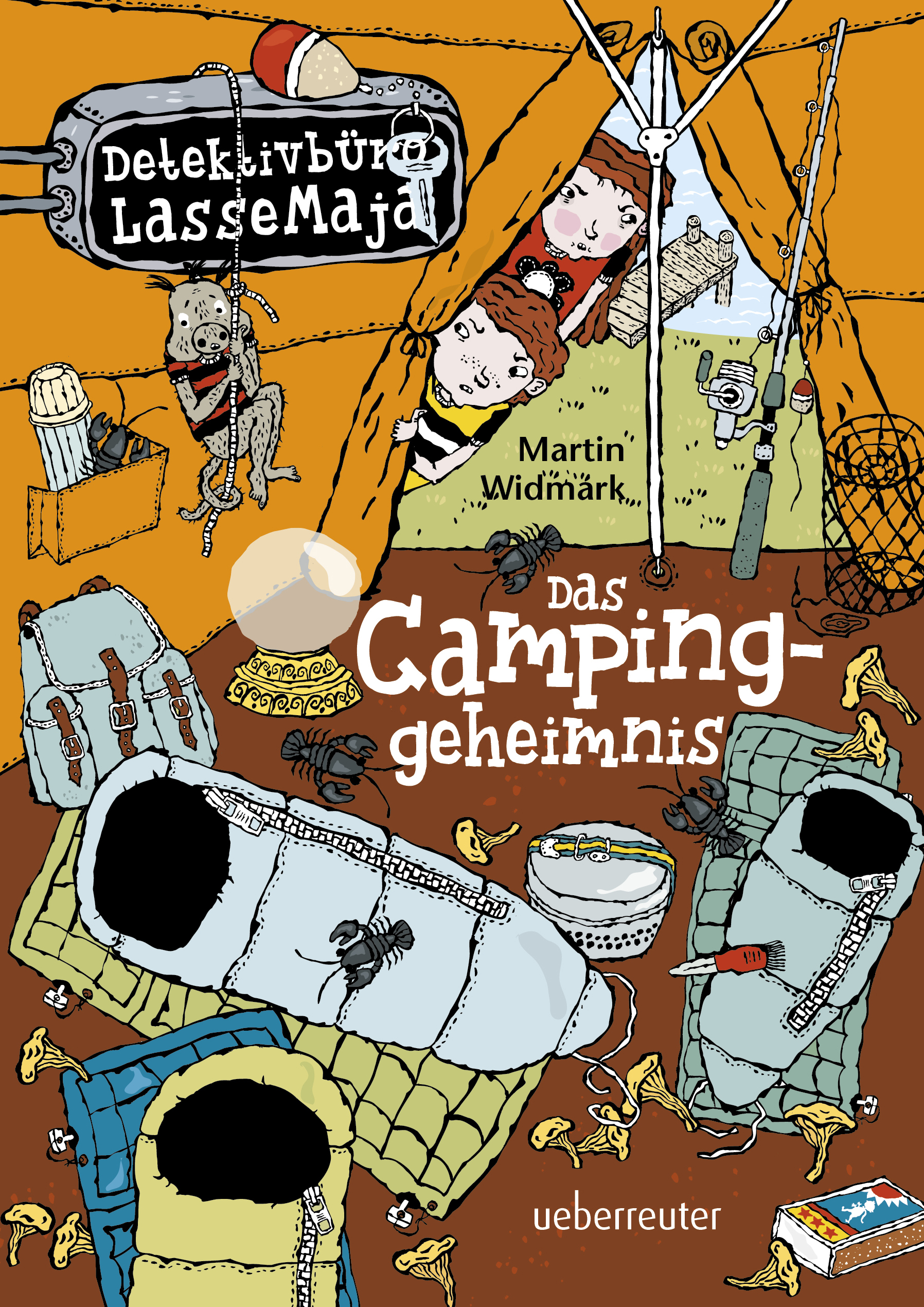Detektivbüro LasseMaja – Das Campinggeheimnis (Detektivbüro LasseMaja, Bd. 8)